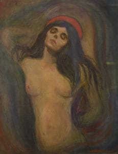 """Madonna"" by Edvard Munch"